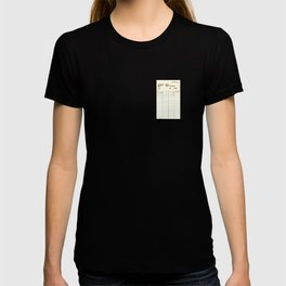 Library Card 797.B7 T-shirt