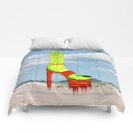 Beach Betch Comforters