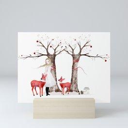 winter's tale Mini Art Print