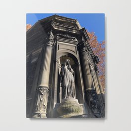 Tomb at Père Lachaise Cemetery Metal Print