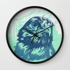 Go Hawks Wall Clock