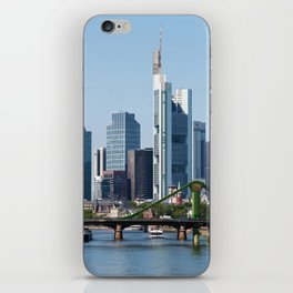 Frankfurt Skyline iPhone Skin