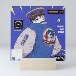 Sonic Boy Mini Art Print