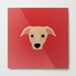 Dobby The Rescue Dog Metal Print