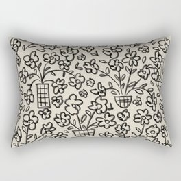 Flower Baskets & Vases Rectangular Pillow