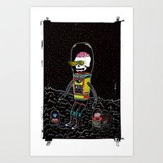 toni bot Art Print