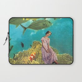 'It's Lonely Down Here' // Under the Sea Laptop Sleeve