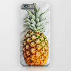 Ananas and Marble Slim Case iPhone 6