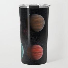 Planets : Hot Jupiter Exoplanets Travel Mug