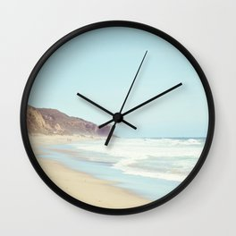 Feeling Malibu Wall Clock