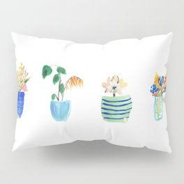 Potted Plants Pillow Sham