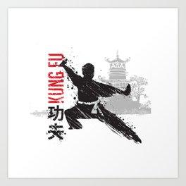 Kung Fu Art Print