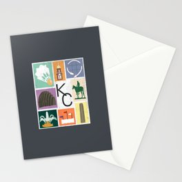 Kansas City Landmark Print Stationery Cards