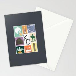 Kansas City Landmark Print Stationery Cards
