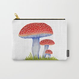 Woodland Toadstools Carry-All Pouch