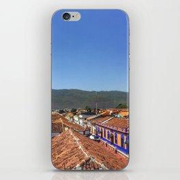 Rooftops in San Cristobal iPhone Skin