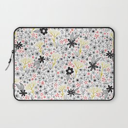 teeny tiny floral pattern Laptop Sleeve