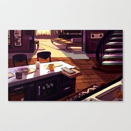 Living Space - Teens of Valor room design Canvas Print
