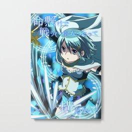 Sayaka Miki Madoka Magica Metal Print