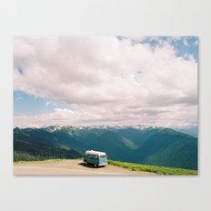 Bus on Hurricane Ridge  Canvas Print