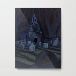 Sleepy Hollow Churchyard Cemetery Metal Print