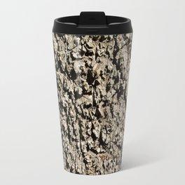 TEXTURES -- Western Sycamore Bark Travel Mug
