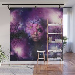 Ode to Ultra Violet Wall Mural