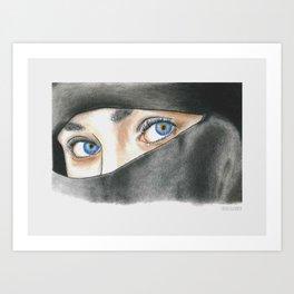 One look Art Print