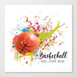 Basketball life Canvas Print