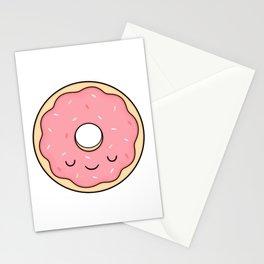 Donut - Pink Sprinkles Stationery Cards