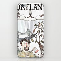 portland iPhone & iPod Skins featuring Portland, Oregon by Brooke Weeber