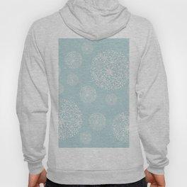 Snowflakes Mint #society6 #buyart Hoody