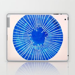Blue Circle Laptop & iPad Skin