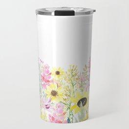 Summer Garden (Sunflower Passion) Travel Mug