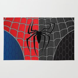 Spider-Man Red/Black Rug