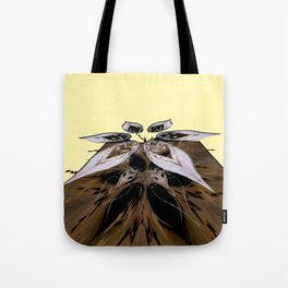 deconstructed flower 3d digital art Tote Bag