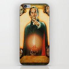 Vampire dracula iPhone & iPod Skin