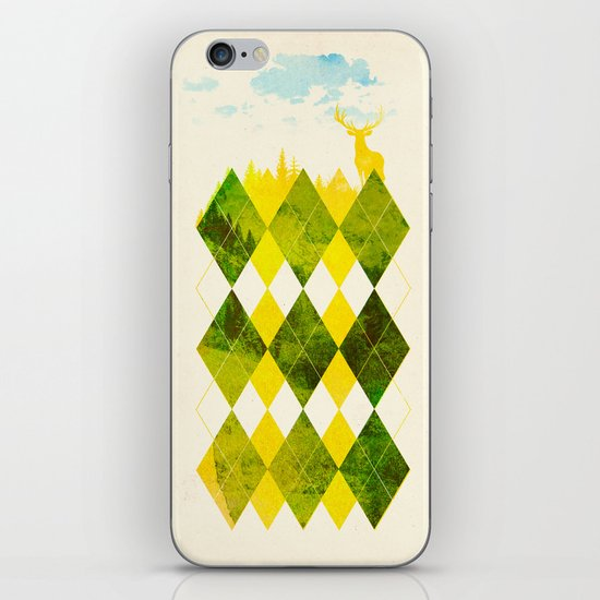 Elegant Forest iPhone & iPod Skin