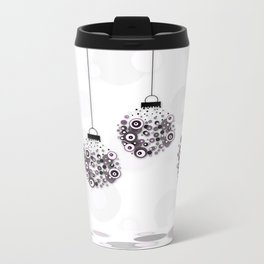 Modern Christmas balls CB Metal Travel Mug