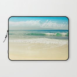 Hawaii Graphic Tropical Beach Decor Laptop Sleeve