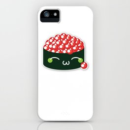 Happy Sushi iPhone Case