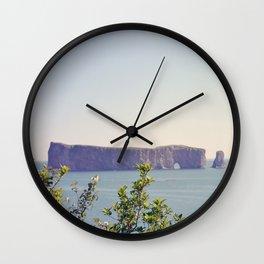 Rocher Percé (Québec, Canada) Wall Clock