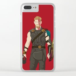god of what? Lightening. Clear iPhone Case