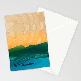 Fairview Bay, Bear & Orca Salish Coast. Stationery Cards