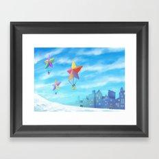 Star Travellers Framed Art Print
