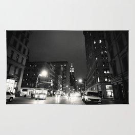 New York City at Night Rug