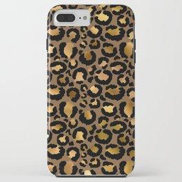 Leopard Metal Glamour Skin iPhone Case