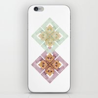 clover iPhone & iPod Skins featuring Clover by Wood + Ink