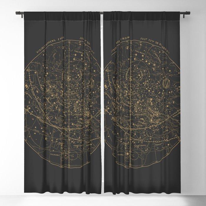 Visible Heavens - Dark Blackout Curtain