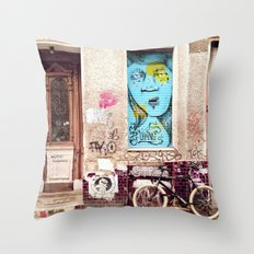 STREETART BERLIN by Jay Hops Throw Pillow